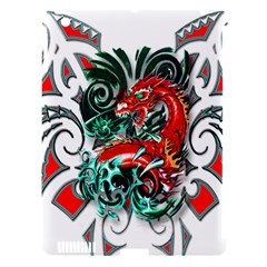 Tribal Dragon Apple Ipad 3/4 Hardshell Case (compatible With Smart Cover) by TheWowFactor