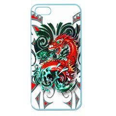 Tribal Dragon Apple Seamless Iphone 5 Case (color) by TheWowFactor
