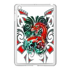 Tribal Dragon Apple Ipad Mini Case (white) by TheWowFactor