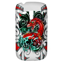 Tribal Dragon Samsung Galaxy S3 Mini I8190 Hardshell Case by TheWowFactor