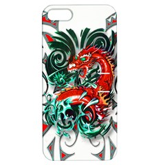 Tribal Dragon Apple Iphone 5 Hardshell Case With Stand by TheWowFactor