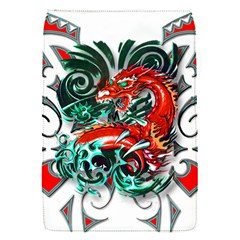 Tribal Dragon Removable Flap Cover (small) by TheWowFactor