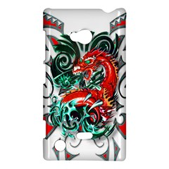 Tribal Dragon Nokia Lumia 720 Hardshell Case by TheWowFactor