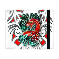 Tribal Dragon Samsung Galaxy Tab Pro 8 4  Flip Case by TheWowFactor