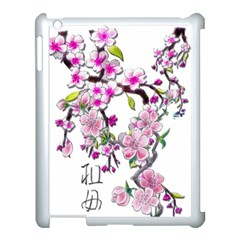 Cherry Bloom Spring Apple Ipad 3/4 Case (white) by TheWowFactor