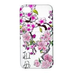 Cherry Bloom Spring Apple Iphone 4/4s Hardshell Case With Stand by TheWowFactor