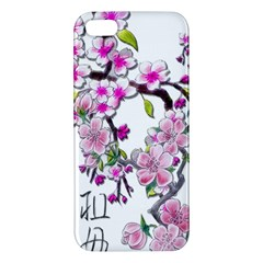 Cherry Bloom Spring Apple Iphone 5 Premium Hardshell Case by TheWowFactor