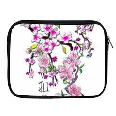 Cherry Bloom Spring Apple Ipad Zippered Sleeve by TheWowFactor