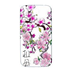 Cherry Bloom Spring Samsung Galaxy S4 I9500/i9505  Hardshell Back Case by TheWowFactor