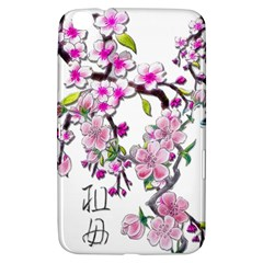 Cherry Bloom Spring Samsung Galaxy Tab 3 (8 ) T3100 Hardshell Case  by TheWowFactor