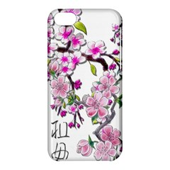 Cherry Bloom Spring Apple Iphone 5c Hardshell Case by TheWowFactor