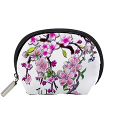 Cherry Bloom Spring Accessories Pouch (small)