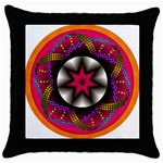 Transformation Throw Pillow Case (Black)