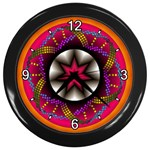 Transformation Wall Clock (Black)