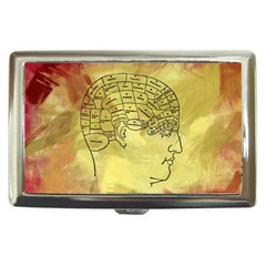 Brain Map Cigarette Money Case by StuffOrSomething