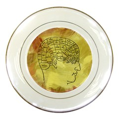 Brain Map Porcelain Display Plate by StuffOrSomething