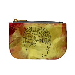 Brain Map Coin Change Purse by StuffOrSomething