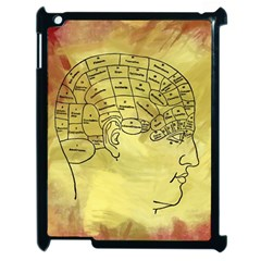 Brain Map Apple Ipad 2 Case (black) by StuffOrSomething