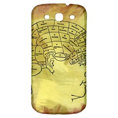 Brain Map Samsung Galaxy S3 S Iii Classic Hardshell Back Case by StuffOrSomething