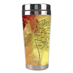 Brain Map Stainless Steel Travel Tumbler by StuffOrSomething