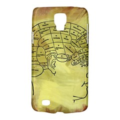 Brain Map Samsung Galaxy S4 Active (i9295) Hardshell Case by StuffOrSomething