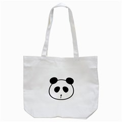 Panda By Divad Brown   Tote Bag (white)   31zrow46wvgm   Www Artscow Com Back
