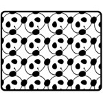 panda - Fleece Blanket (Medium)