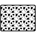 panda - Double Sided Fleece Blanket (Large)