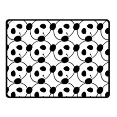 Panda By Divad Brown   Double Sided Fleece Blanket (small)   Xq4j9xi4lpr9   Www Artscow Com 45 x34 Blanket Back