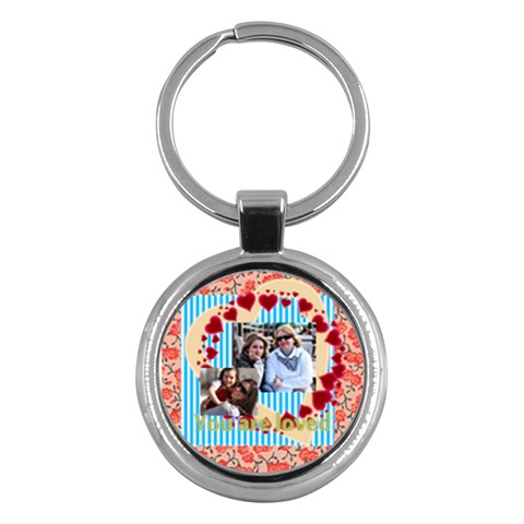 Family By Family   Key Chain (round)   Tqzgho3r2vqd   Www Artscow Com Front