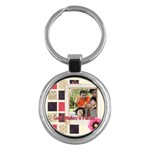 family - Key Chain (Round)