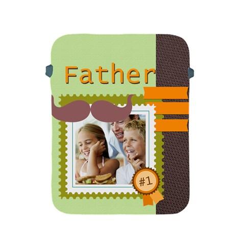 Fathers Day By Dad   Apple Ipad 2/3/4 Protective Soft Case   A4p3yzvog6em   Www Artscow Com Front