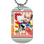 kids - Dog Tag (One Side)