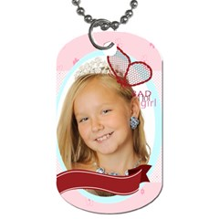 Kids By Kids   Dog Tag (two Sides)   38cbwb3taxp7   Www Artscow Com Front