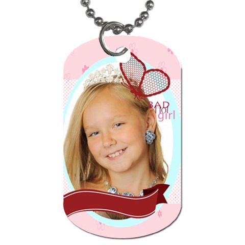 Kids By Kids   Dog Tag (one Side)   B5fs0v5eowya   Www Artscow Com Front