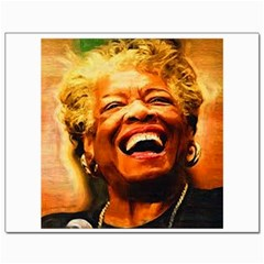 Angelou Canvas 11  X 14  (unframed) by Dimension
