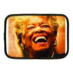 Angelou Netbook Sleeve (medium) by Dimension
