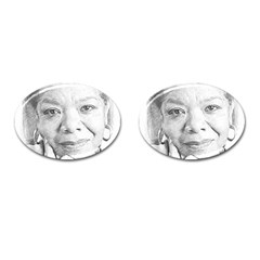 Maya  Cufflinks (oval) by Dimension