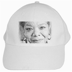 Maya  White Baseball Cap by Dimension