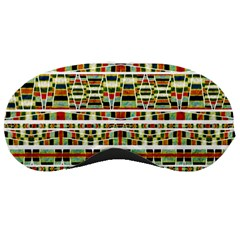Aztec Grunge Pattern Sleeping Mask by dflcprints