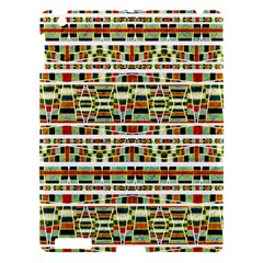 Aztec Grunge Pattern Apple Ipad 3/4 Hardshell Case by dflcprints