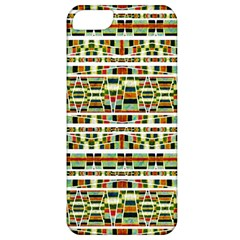 Aztec Grunge Pattern Apple Iphone 5 Classic Hardshell Case by dflcprints