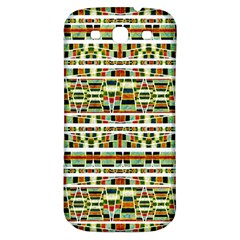 Aztec Grunge Pattern Samsung Galaxy S3 S Iii Classic Hardshell Back Case by dflcprints