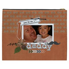 Cosmetic Bag (xxxl) : Dad 1 By Jennyl   Cosmetic Bag (xxxl)   Gjkktezg2uni   Www Artscow Com Back