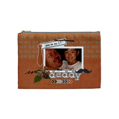 Cosmetic Bag (m): Dad 1 By Jennyl   Cosmetic Bag (medium)   Ccjnl9xjr5te   Www Artscow Com Front