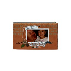 Cosmetic Bag (s) : Dad 1 By Jennyl   Cosmetic Bag (small)   Te1easiqzth4   Www Artscow Com Back