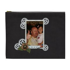 Cosmetic Bag (xl) : Dad 2 By Jennyl   Cosmetic Bag (xl)   Oadb0baxvxut   Www Artscow Com Front
