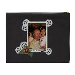 Cosmetic Bag (xl) : Dad 2 By Jennyl   Cosmetic Bag (xl)   Oadb0baxvxut   Www Artscow Com Back