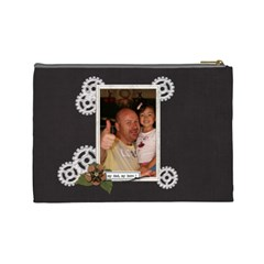 Cosmetic Bag (l) : Dad 2 By Jennyl   Cosmetic Bag (large)   Xfbzvpjtwmmk   Www Artscow Com Back