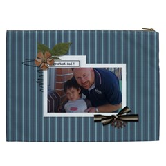Cosmetic Bag (xxl) : Dad 3 By Jennyl   Cosmetic Bag (xxl)   Urmp7wuyax93   Www Artscow Com Back